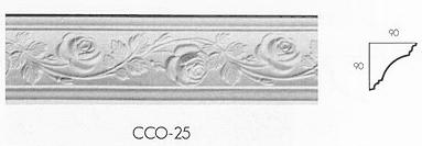 cco 25 small creeping rose cornice