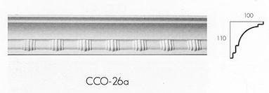 cco 26a four bar cornice