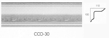 cco 30 mistletoe cornice