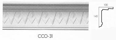 cco 31 deco triangle cornice