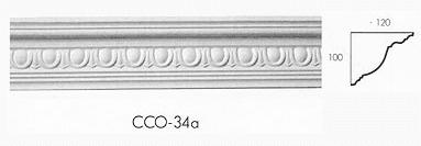 cco 34a egg and dart cornice