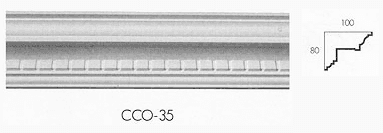 cco 35 meduim dental drip cornice