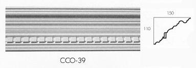 cco 39 large dental cornice