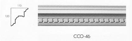 cco 46 large dental drip cornice