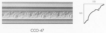 cco 47 large creeping rose cornice
