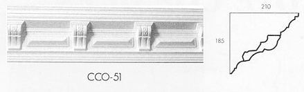 cco 51 small tudor cornice