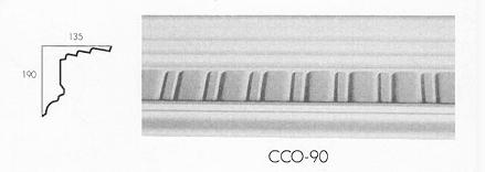 cco 90 long flute cornice