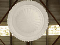 classic ceiling supplies large fringed dome