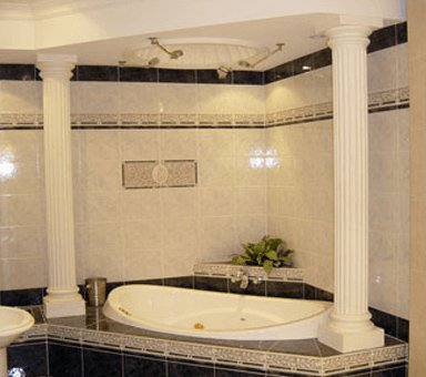classic ceiling supplies luxury bath tub with circular dome ceiling