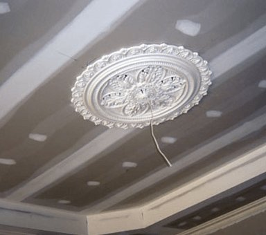 classic ceiling supplies round shaped flower dome