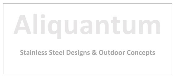 Aliquantum logo, Stainless Steel Designs & Outdoor Concepts