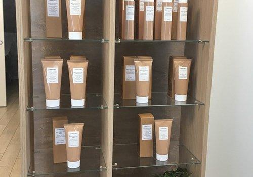 Dei prodotti per il benessere in vendita