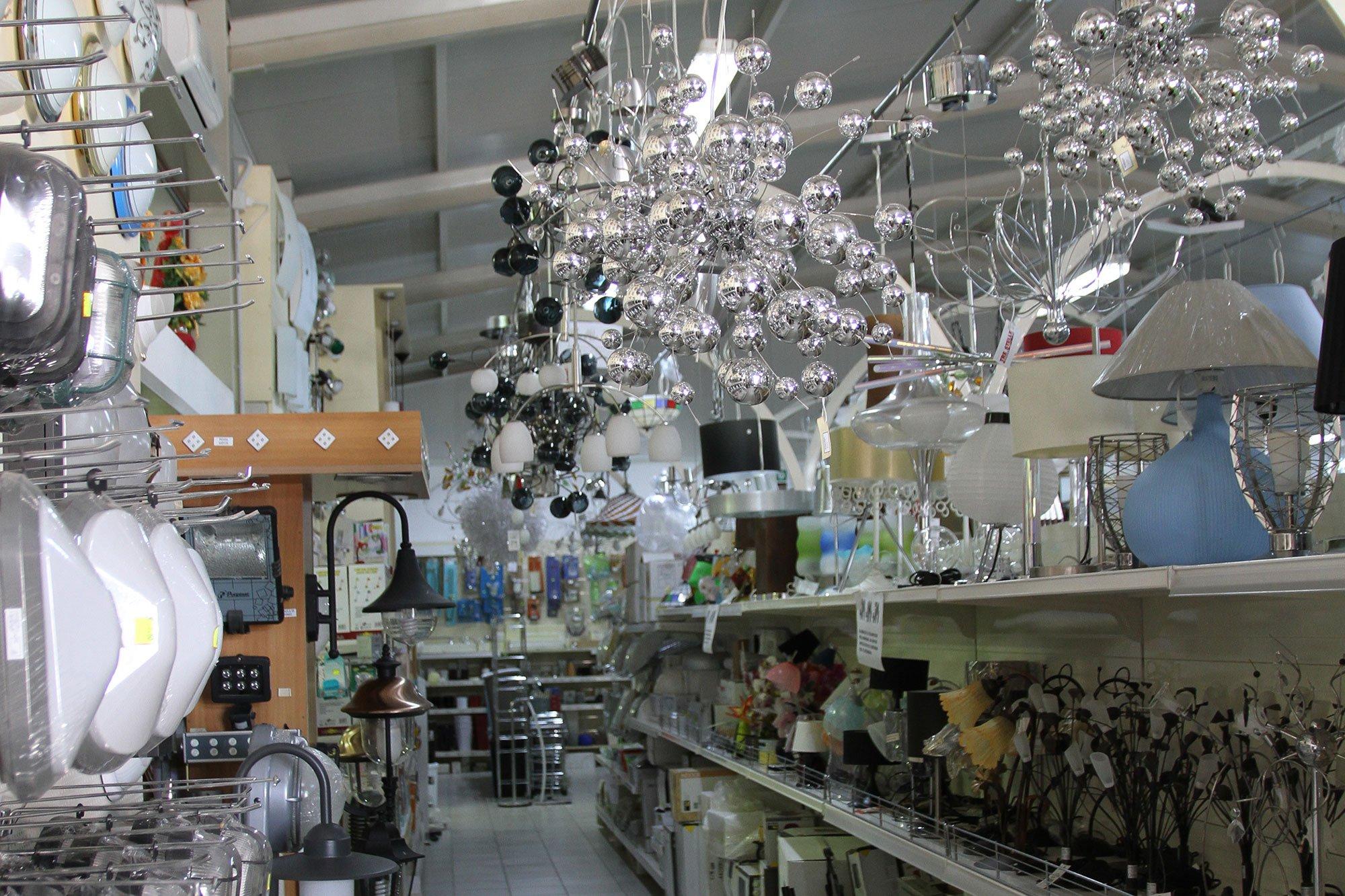 esposizione lampadari