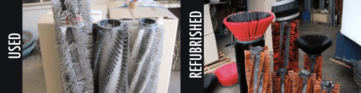 refubrishing industrial brushes in Adelaide