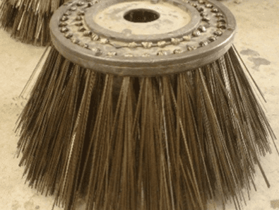 Road broom brushes