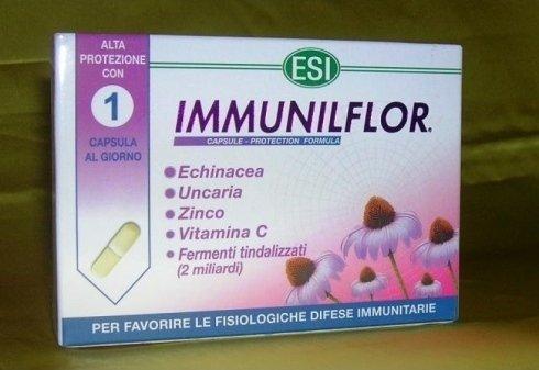 ESI Immunilflor Naturcaps Capsule Echinacea Unacaria Zinco Vitamina C