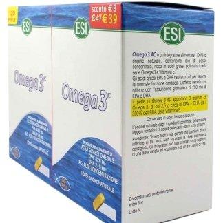 esi omega3 omega alta concentrazione trigliceridi acidi grassi olio pesce vitamina E antiossidante vitamina