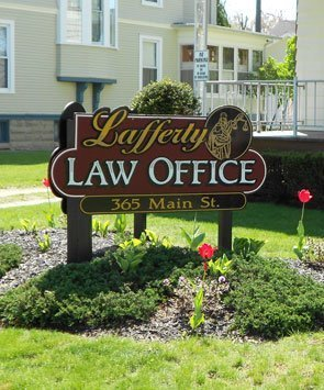 Lafferty Charles N Atty law offices on 365 Main St.