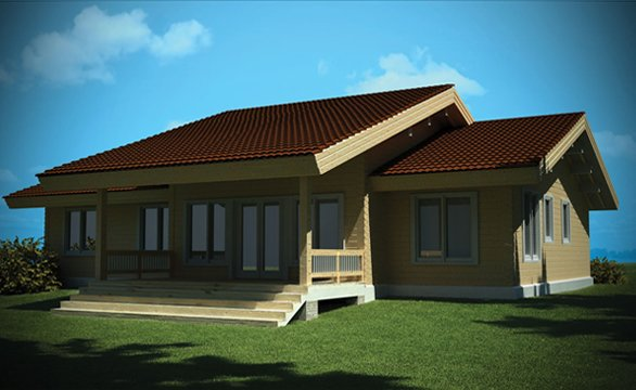 Three And Four Bed Log Cabin Designs From Aberystwyth