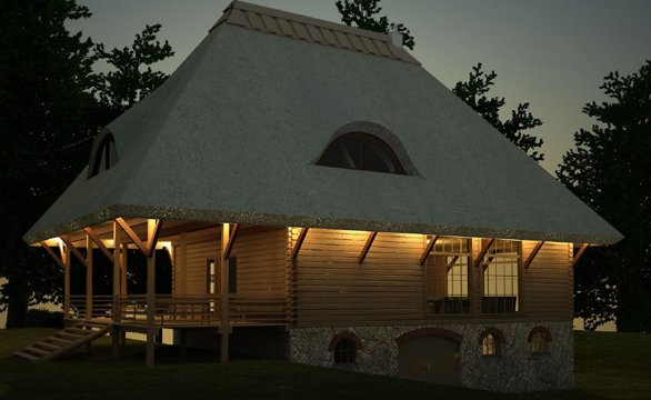 Three and four bedroom log cabin designs at log cabin uk for 4 bedroom log cabin kits