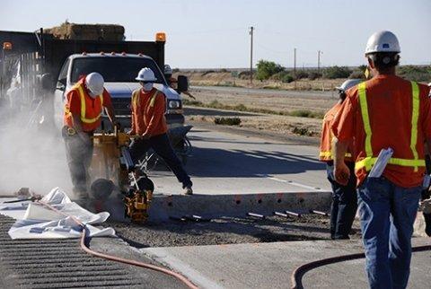 asfalto e lavori edili