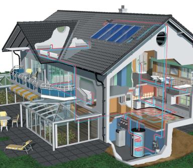 impianto riscaldamento pannello solare