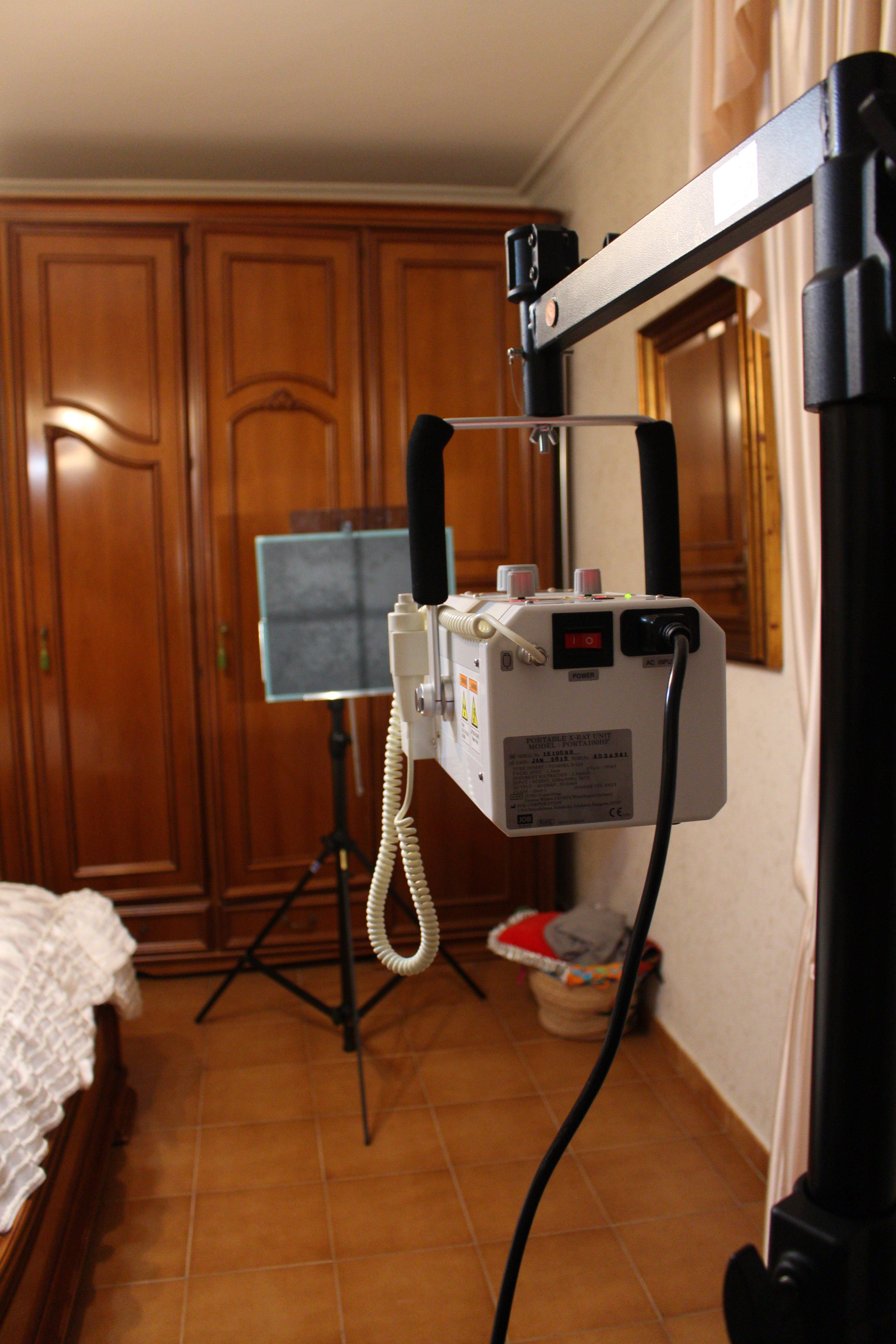 attrezzatura per radiologia  casa