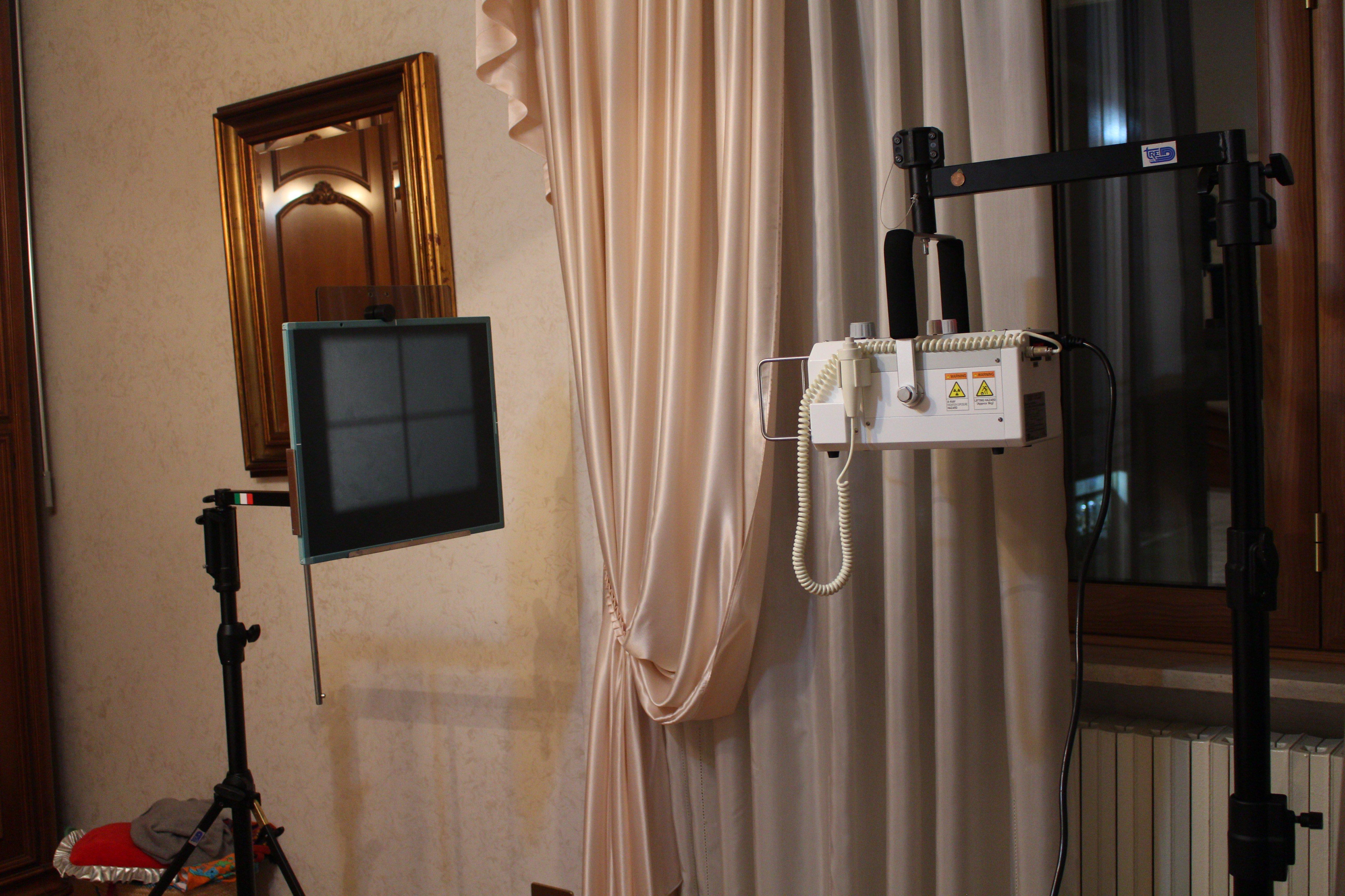 macchinari per la radiologia a casa