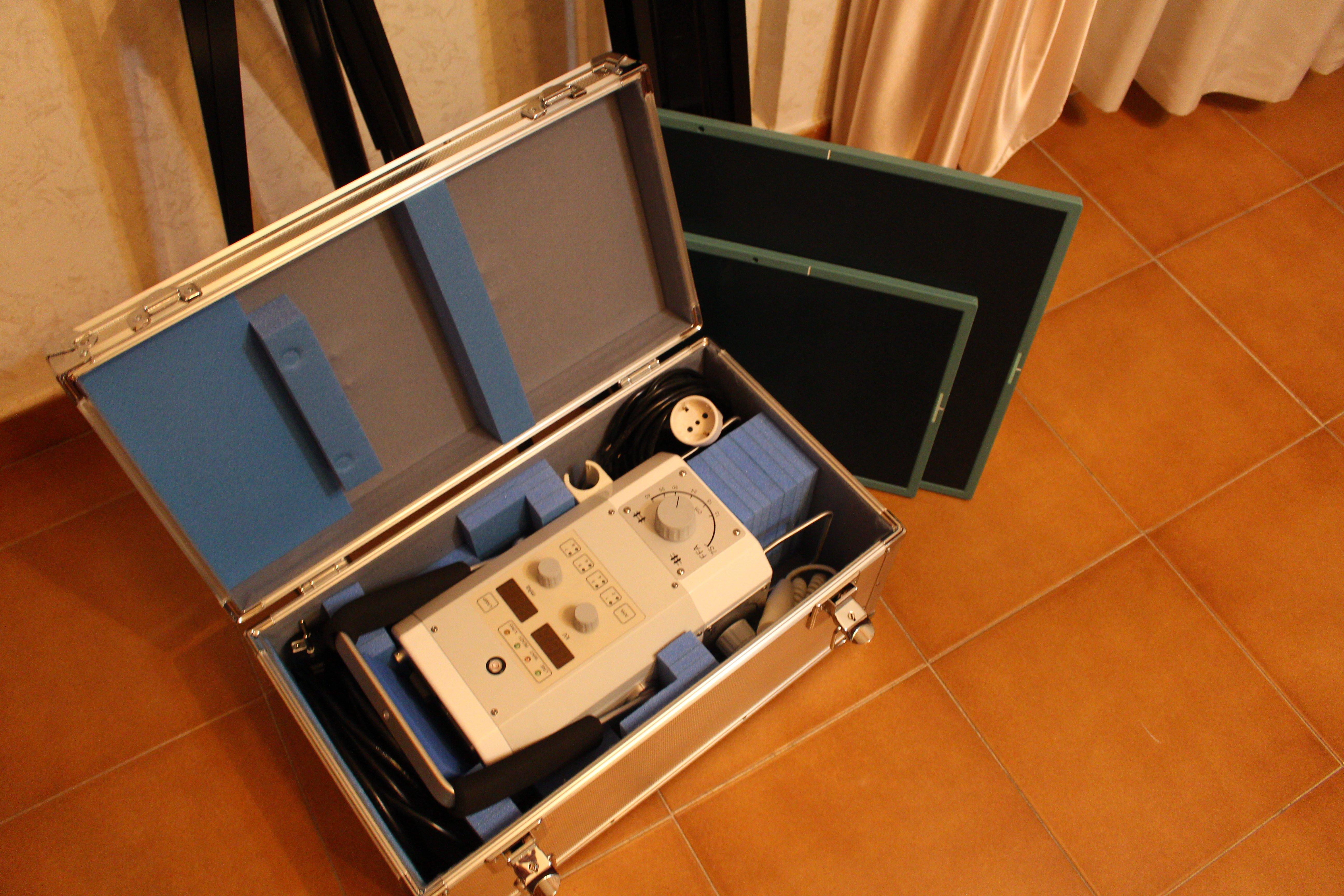 attrezzatura per radiologia a casa