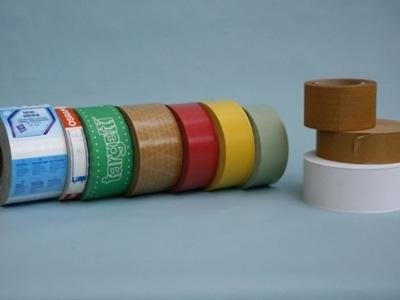 Production of special paper rolls