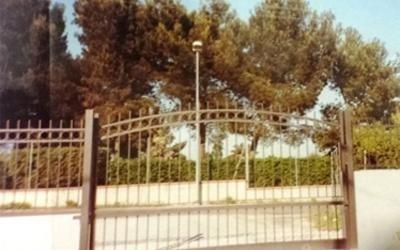 cancello grande scorrevole
