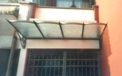 copertura ferro e vetro