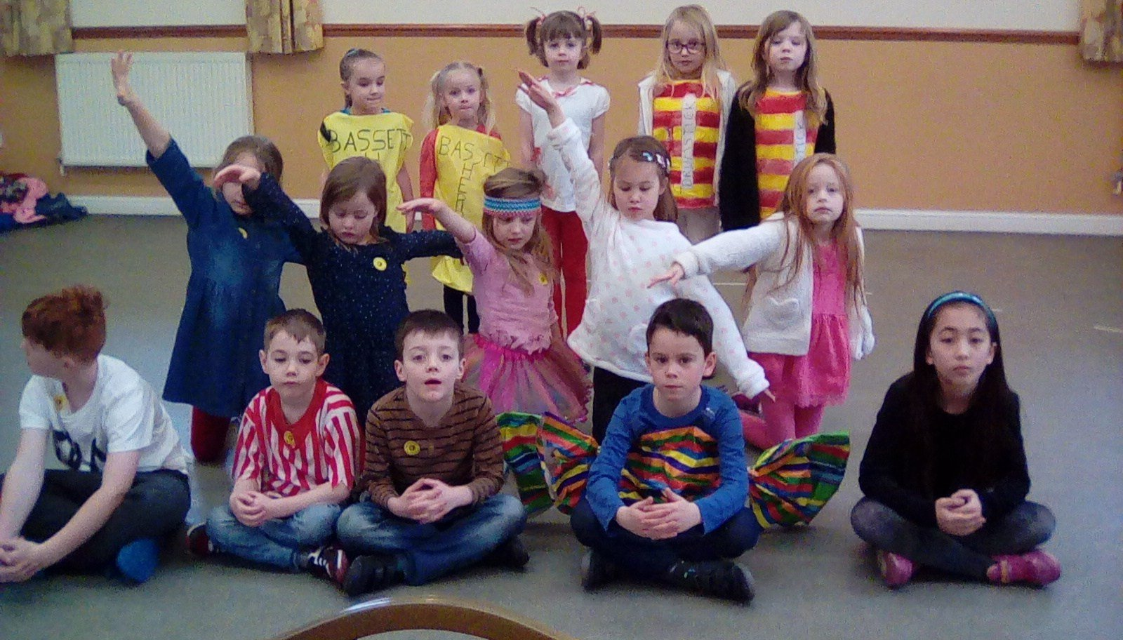 children acting