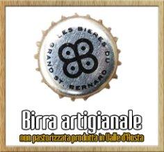 birra artigianale non pastorizzata prodotta in Valle D'Aosta
