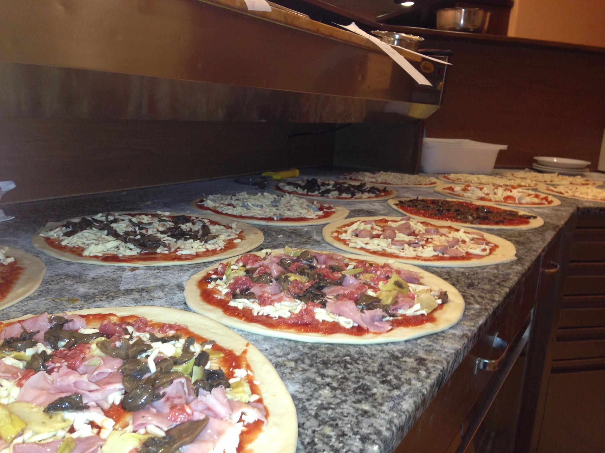 pizze da infornare