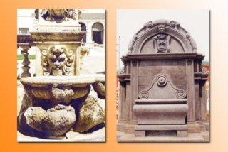 fontane scolpite