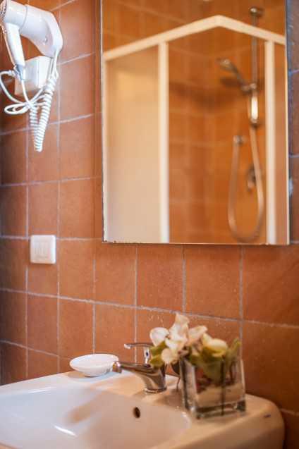 lavandino con specchio