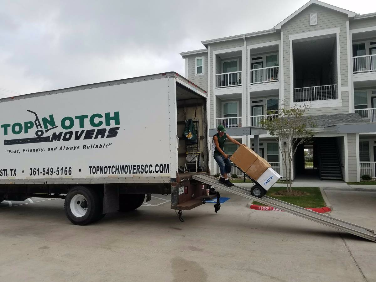 Top Notch Movers residential moving services