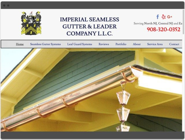 Imperial Seamless Gutters