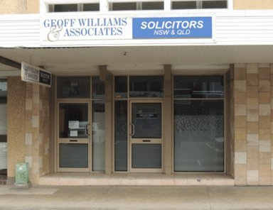 geoff williams and associates office entrance