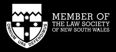 geoff williams and associates member law society nsw logo