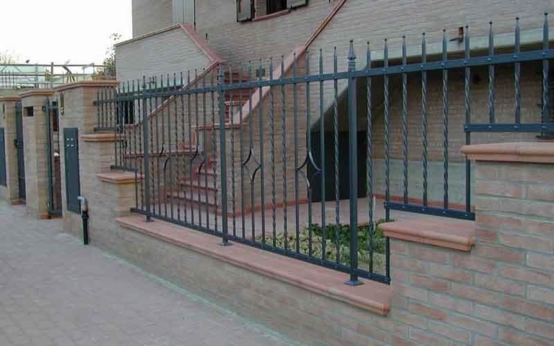 recinzioni colorate
