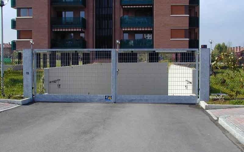 cancello particolare edificio