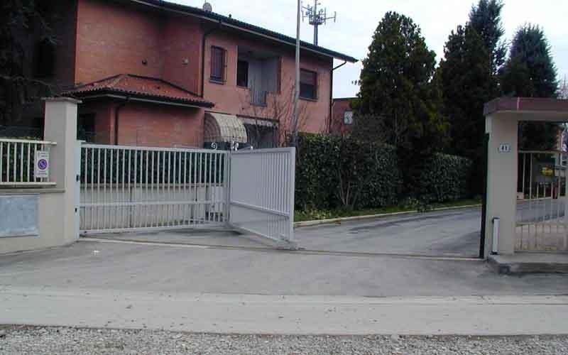 cancello particolare singolo