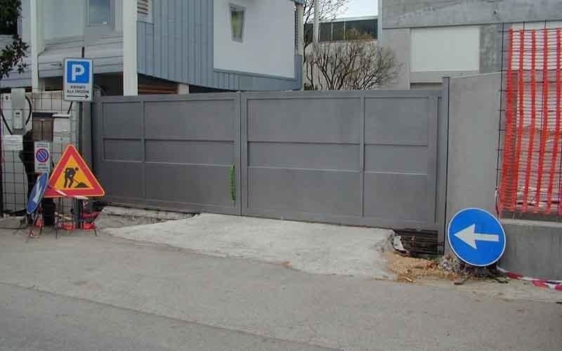 cancello scorrevole elettronico