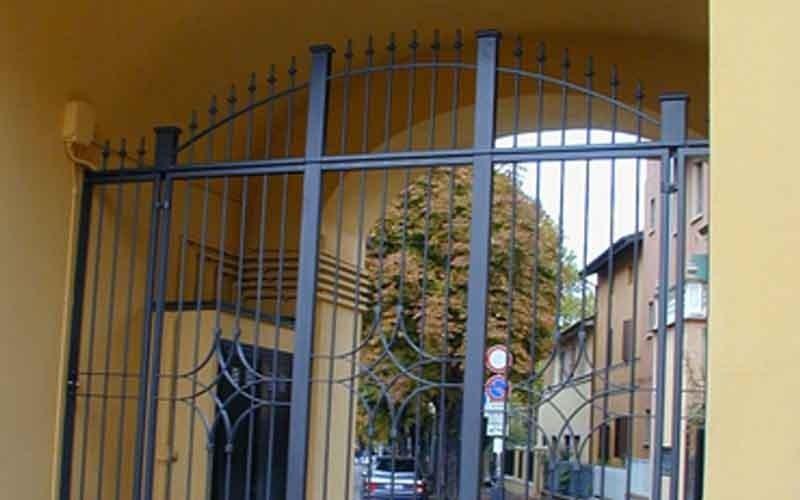 cancello ingresso caso