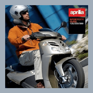 Aprilia Sportcity Cube