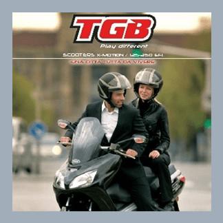 TGB Scooters X-Motion / 125 - 250 EF1