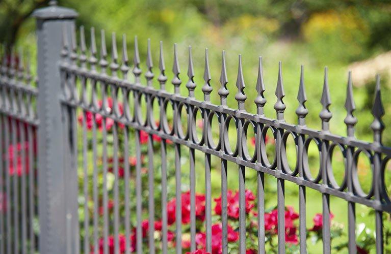 macalister fencing steel fence design