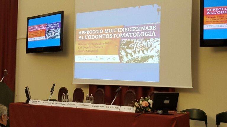 Sede Congressuale - Approccio Multidisciplinare all'Odontosomatologia - 21 22 Ottobre 2016